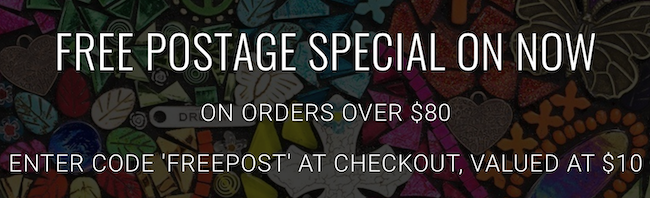Free postage special on now