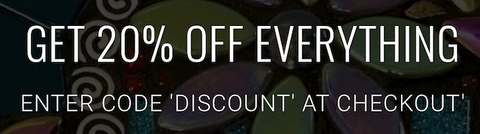 get 20% off everything