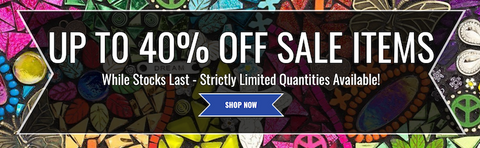 Up to 40% off sale items