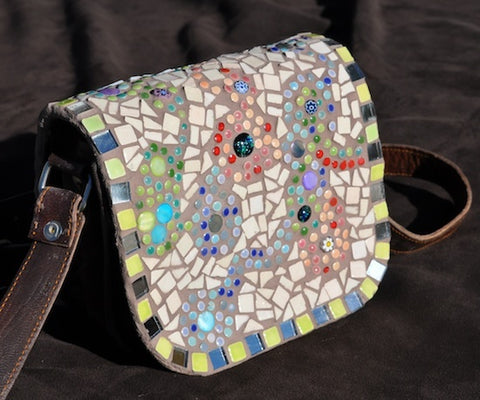 How To Make A Mosaic Handbag Step By Step Awesome