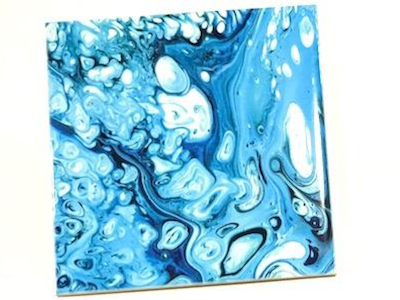 Marbled Ceramic Tiles 10x10cm