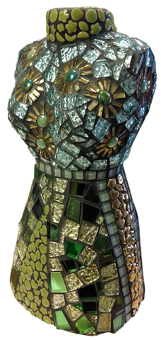 learn how to mosaic a female torso