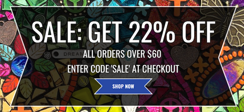 get 22% off everything