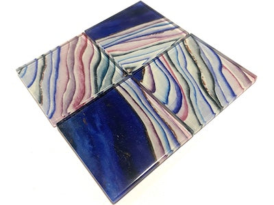 Agate Glass Mosaic Tiles 5cm - No. 11 (HM)