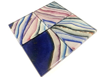 Agate Glass Mosaic Tiles 5cm - No. 12 (HM)