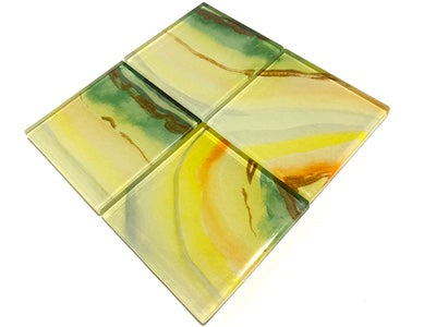 Agate Glass Mosaic Tiles 5cm - No. 15 (HM)