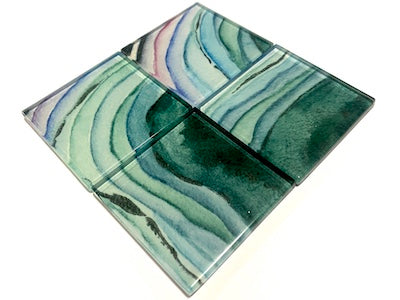 Agate Glass Mosaic Tiles 5cm - No. 1 (HM)
