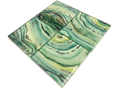 Agate Glass Mosaic Tiles 5cm - No. 3 (HM)