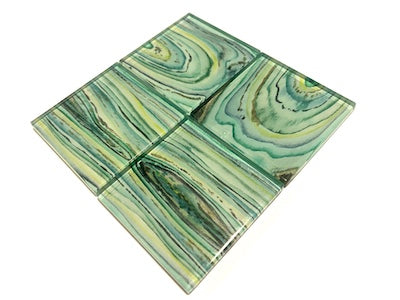 Agate Glass Mosaic Tiles 5cm - No. 4 (HM)