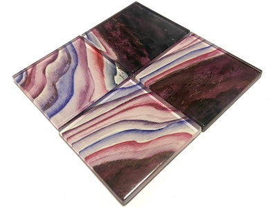 Agate Glass Mosaic Tiles 5cm - No. 8 (HM)
