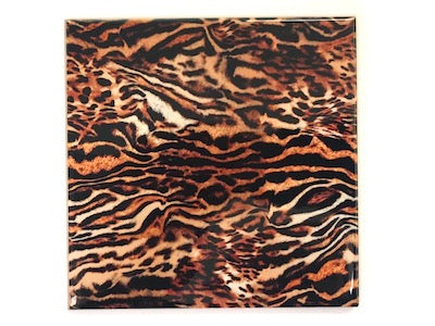 Animal Skin Ceramic 10x10cm No. 14 (HM)