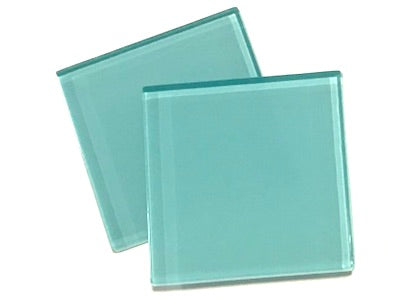Aqua 5cm Glass Tiles