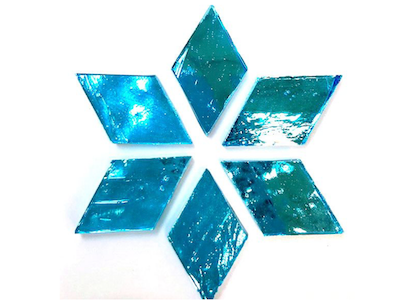 Aqua Regalia Mirror Diamonds