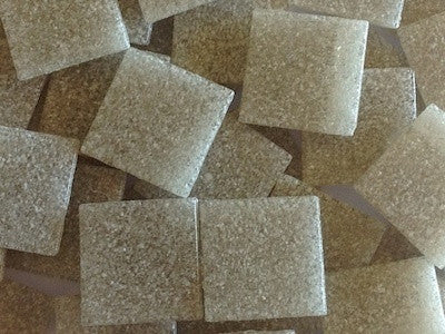 Beige 2cm venetian vitreous glass tiles for mosaics