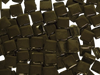 Buy online these Black Crystal Glass Mosaic Tiles 1cm