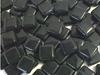 Black Gloss Glass Tiles 1cm