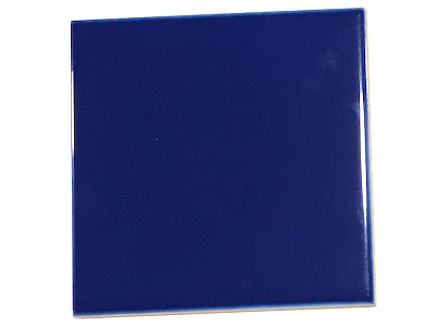 Blue Ceramic Tiles 10x10cm - No. 8 (HM)
