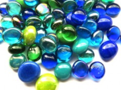 Mediterranean Mini Glass Gems Mix