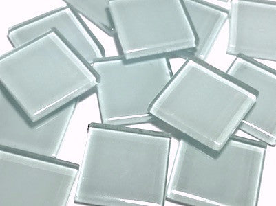 Blue No.1 Glass Mosaic Tiles 2.5cm