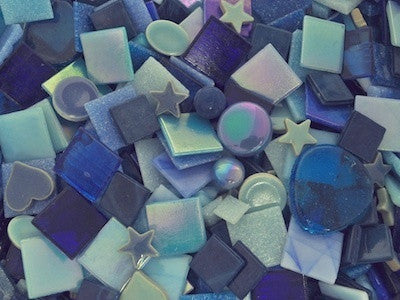 Blue tile and tesserae colour packs