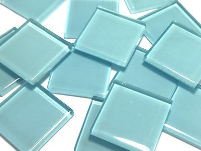 Blue No. 4 Glass Mosaic Tiles 2.5cm