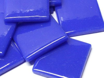 Brilliant Blue Gloss Glass Tiles 2.5cm