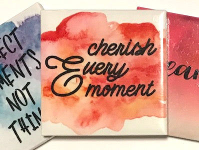 'Cherish Every Moment' Ceramic Quote Tile (HM)