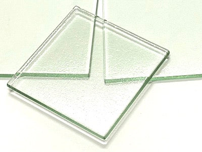 Clear Glass Tiles - 7.5 x 7.5 cm