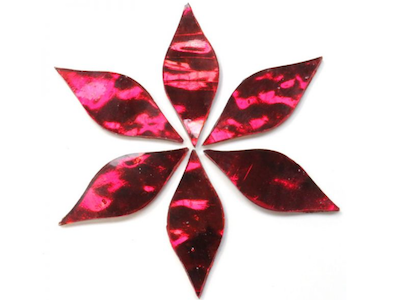 Dark Red Regalia Mirror Petals