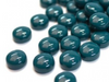 Dark Teal Glass Droplets