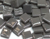 Deep Grey Gloss Glass Tiles 1.2cm