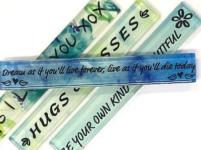 Dream As If You'll Love Forever - Quote Strip (HM)