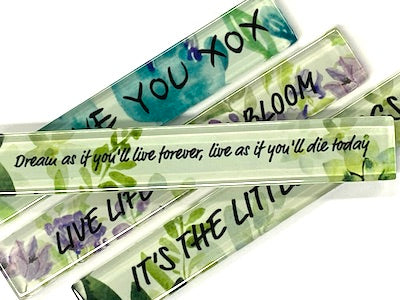 Dream As If You'll Live Forever (Foliage) - Quote Strip (HM)