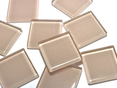 Skin Toned Glass Mosaic Tiles 2.5cm - No. 2