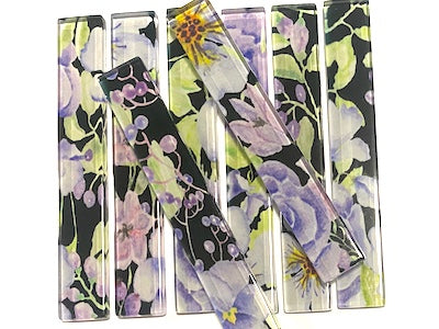 Floral Glass Strips - No. 1 (HM)
