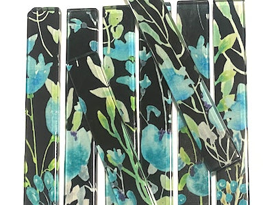 Floral Glass Strips - No. 4 (HM)
