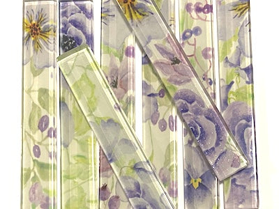 Floral Glass Strips - No. 5 (HM)