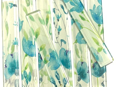 Floral Glass Strips - No. 7 (HM)