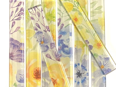 Floral Glass Strips - No. 9 (HM)
