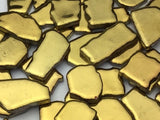 Gold Ceramic Puzzle Pieces