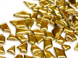 Gold Ceramic Puzzle Pieces Irregular