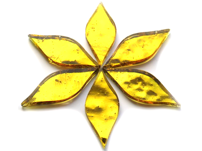 Gold Regalia Mirror Petals