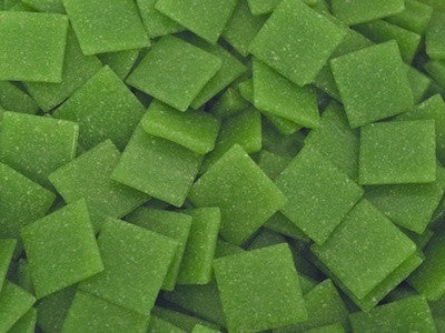 Grass Green 2cm Venetian Glass Mosaic Tiles