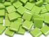 Green Gloss Glass Tiles 1.2cm