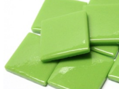 Green Gloss Glass Tiles 2.5cm