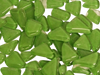 Green Crystal Glass Mosaic Tiles Irregular
