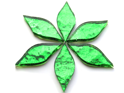 Green Regalia Mirror Petals
