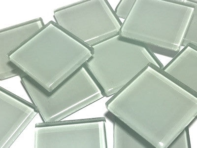 Grey No. 1 Glass Mosaic Tiles 2.5cm