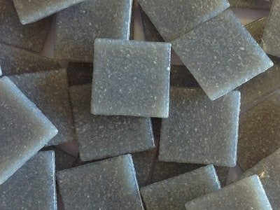 Grey 2cm Venetian Glass Mosaic Tiles