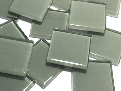 Grey No. 4 Glass Mosaic Tiles 2.5cm